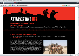 Attack State Red web site